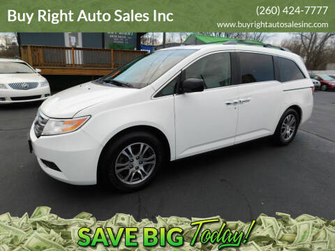 2011 Honda Odyssey for sale at Buy Right Auto Sales Inc in Fort Wayne IN
