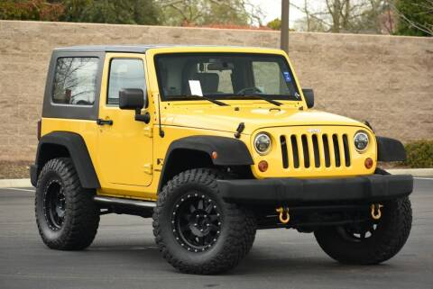 2008 Jeep Wrangler for sale at Sac Truck Depot in Sacramento CA