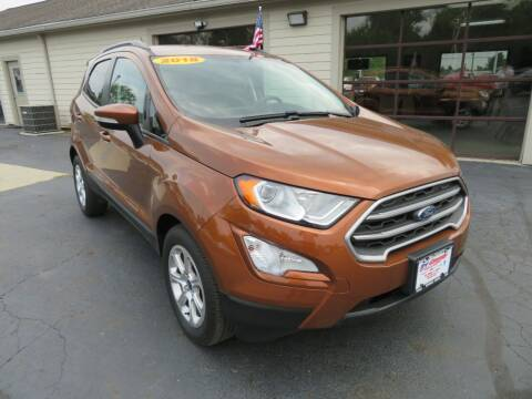 2018 Ford EcoSport for sale at Tri-County Pre-Owned Superstore in Reynoldsburg OH