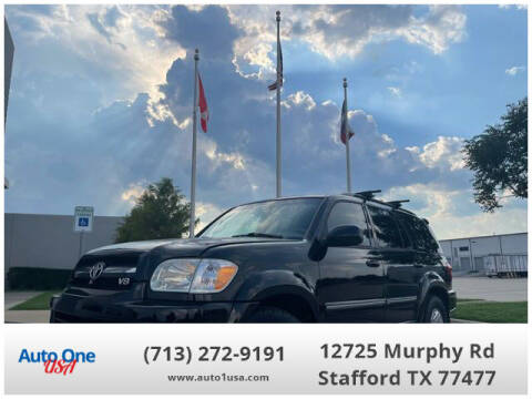 2006 Toyota Sequoia for sale at Auto One USA in Stafford TX