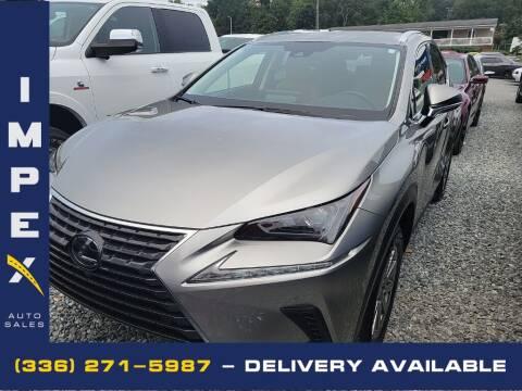 2020 Lexus NX 300h for sale at Impex Auto Sales in Greensboro NC
