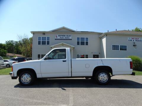 1988 Dodge Dakota for sale at SOUTHERN SELECT AUTO SALES in Medina OH