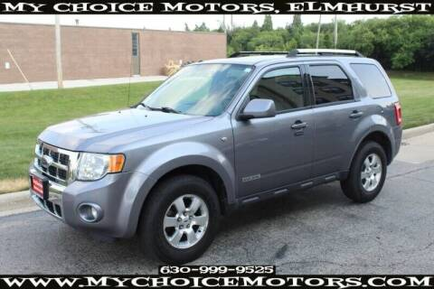 2008 Ford Escape for sale at My Choice Motors Elmhurst in Elmhurst IL