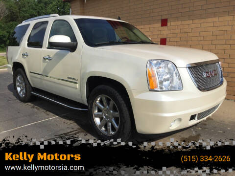2010 GMC Yukon for sale at Kelly Motors in Johnston IA