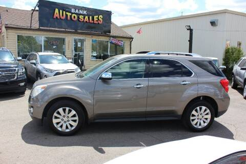 2010 Chevrolet Equinox for sale at BANK AUTO SALES in Wayne MI