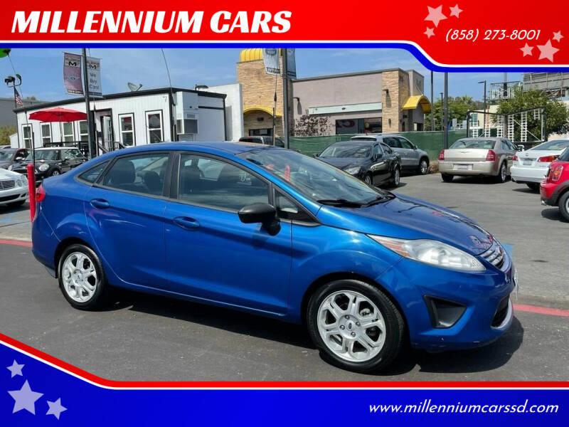 2011 Ford Fiesta for sale at MILLENNIUM CARS in San Diego CA