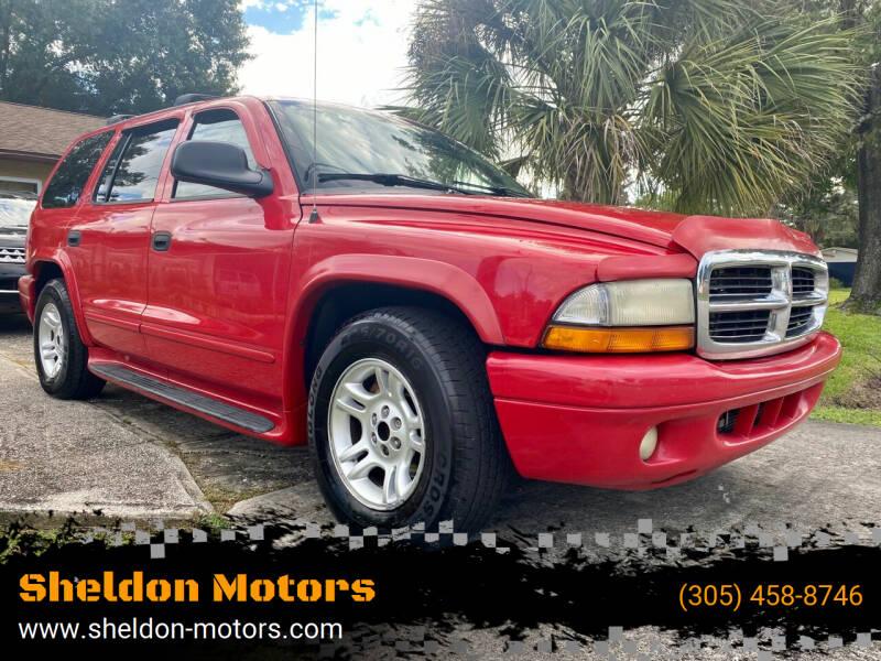 2003 Dodge Durango for sale at Sheldon Motors in Tampa FL