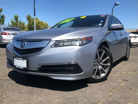 2015 Acura TLX for sale at LUGO AUTO GROUP in Sacramento CA