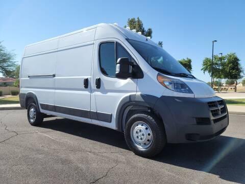 2018 RAM ProMaster Cargo for sale at AZ Work Trucks And Vans in Mesa AZ