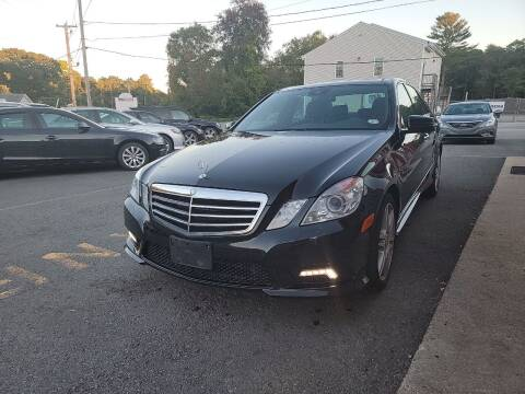 2010 Mercedes-Benz E-Class for sale at Top Quality Auto Sales in Westport MA