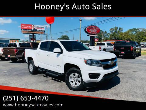 2016 Chevrolet Colorado for sale at Hooney's Auto Sales in Theodore AL