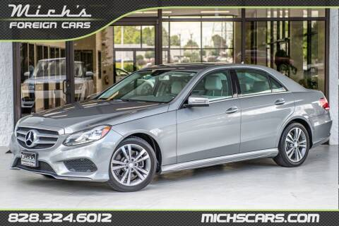2015 Mercedes-Benz E-Class for sale at Mich's Foreign Cars in Hickory NC