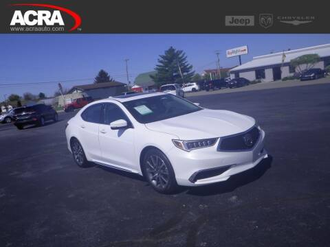 2018 Acura TLX for sale at BuyRight Auto in Greensburg IN