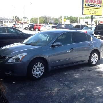 2012 Nissan Altima for sale at Easy Credit Auto Sales in Cocoa FL