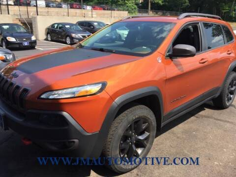 2016 Jeep Cherokee for sale at J & M Automotive in Naugatuck CT