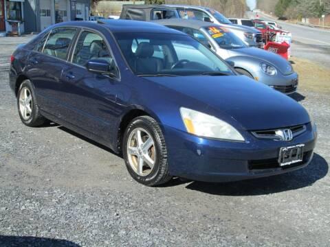 2005 Honda Accord for sale at Saratoga Motors in Gansevoort NY