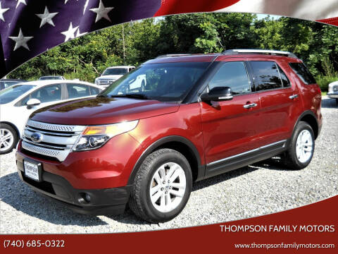 2014 Ford Explorer for sale at THOMPSON FAMILY MOTORS in Senecaville OH