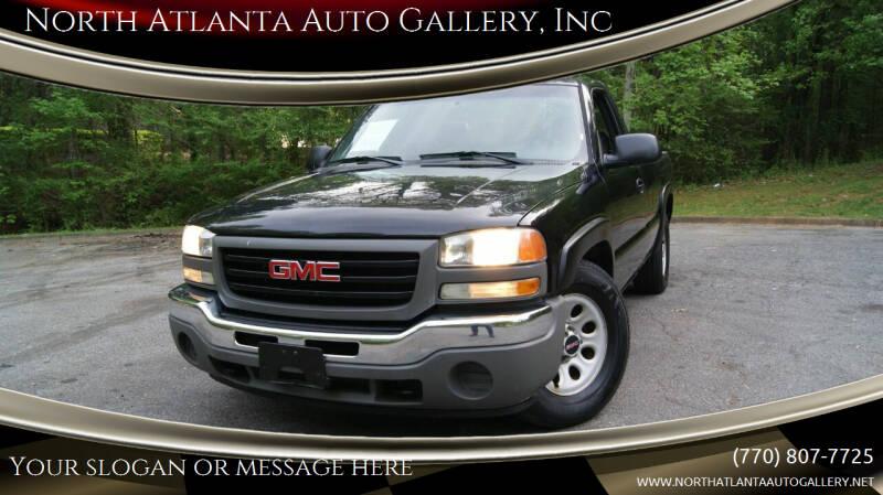 2007 GMC Sierra 1500 for sale at North Atlanta Auto Gallery, Inc in Alpharetta GA