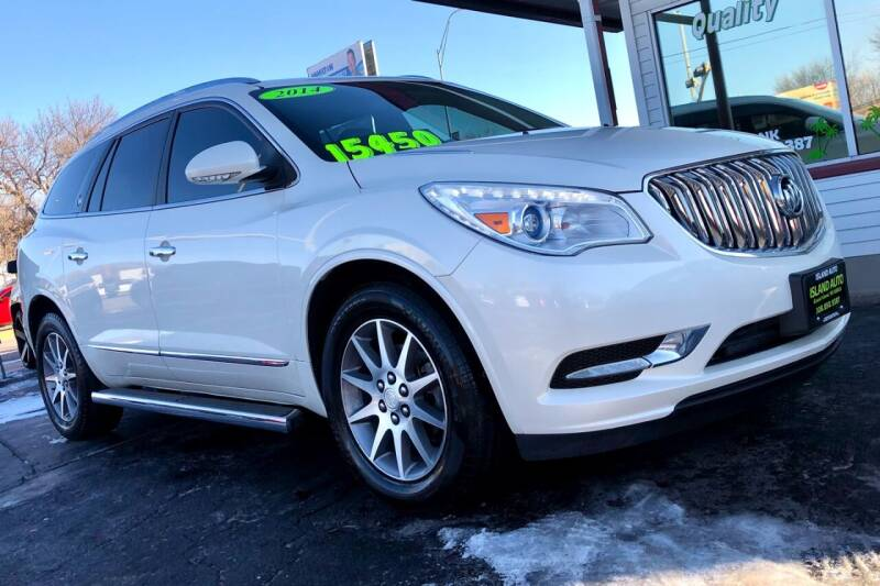 2014 Buick Enclave for sale at Island Auto in Grand Island NE