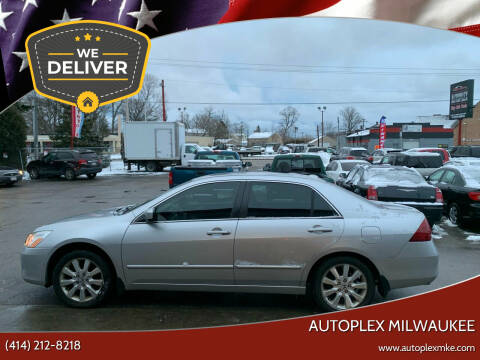 2007 Honda Accord for sale at Autoplex 3 in Milwaukee WI