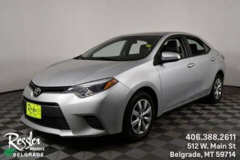 2016 Toyota Corolla for sale at Danhof Motors in Manhattan MT