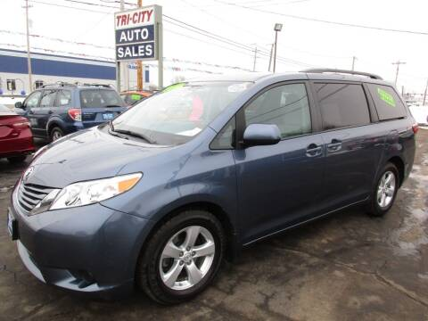 2017 Toyota Sienna for sale at TRI CITY AUTO SALES LLC in Menasha WI
