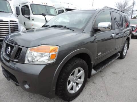 2008 Nissan Armada for sale at Boss Motor Company in Dallas TX