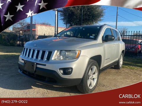 2011 Jeep Compass for sale at CARBLOK in Lewisville TX