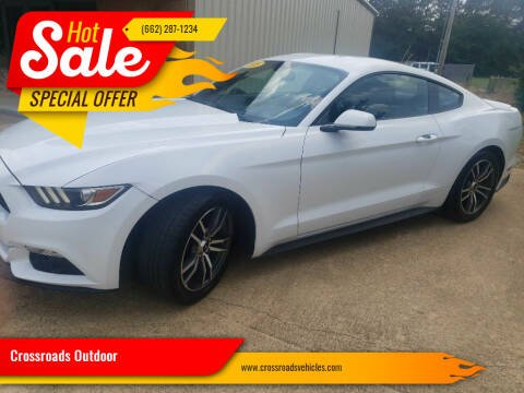 2016 Ford Mustang for sale at Crossroads Outdoor in Corinth MS