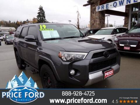 2019 Toyota 4Runner for sale at Price Ford Lincoln in Port Angeles WA