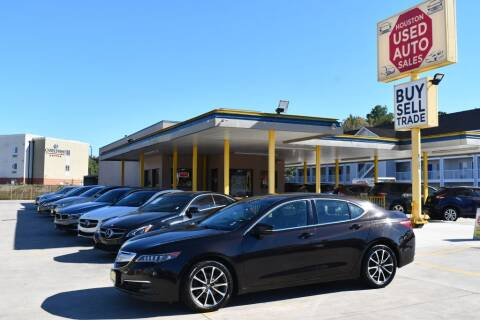 2016 Acura TLX for sale at Houston Used Auto Sales in Houston TX