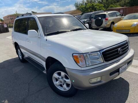 2000 Toyota Land Cruiser for sale at Coast Auto Motors in Newport Beach CA