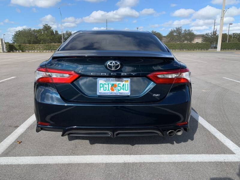 2018 Toyota Camry SE 4dr Sedan - Hialeah FL