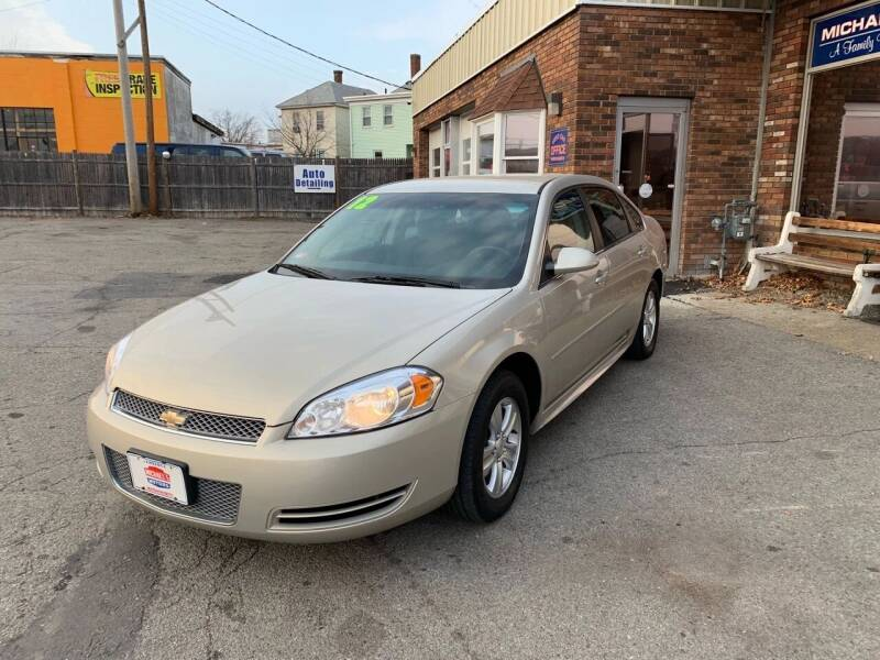 2012 Chevrolet Impala for sale at Michaels Motor Sales INC in Lawrence MA