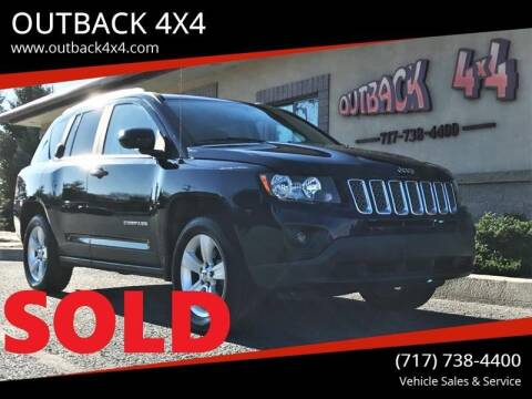 2015 Jeep Compass for sale at OUTBACK 4X4 in Ephrata PA
