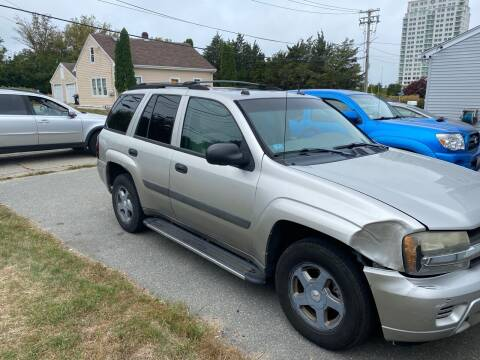 2005 Chevrolet TrailBlazer for sale at S & K Auto Sales in Westport MA