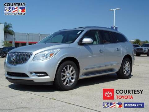 2015 Buick Enclave for sale at Courtesy Toyota & Ford in Morgan City LA