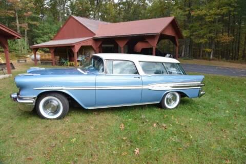 1957 Pontiac Safari for sale at Classic Car Deals in Cadillac MI