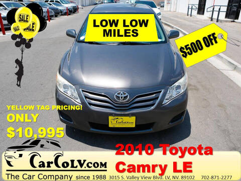 2010 Toyota Camry for sale at The Car Company in Las Vegas NV
