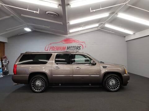 2011 Cadillac Escalade ESV for sale at Premium Motors in Villa Park IL