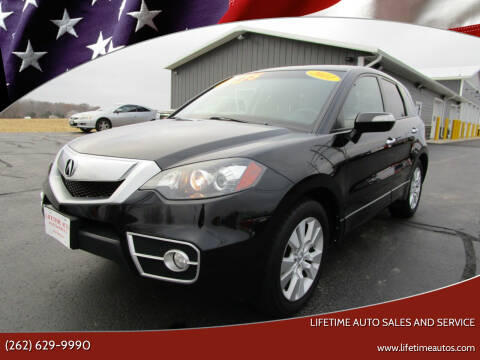 2011 Acura RDX for sale at Lifetime Auto Sales and Service in West Bend WI