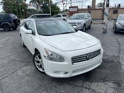 2012 Nissan Maxima for sale at Some Auto Sales in Hammond IN