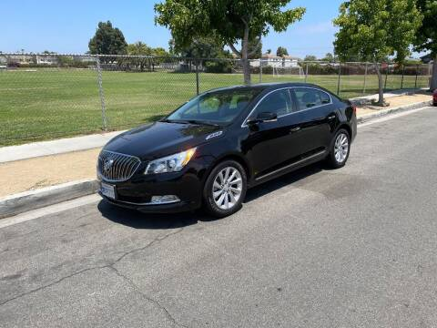 2016 Buick LaCrosse for sale at PACIFIC AUTOMOBILE in Costa Mesa CA
