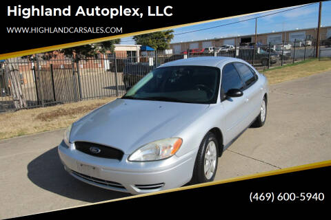 2006 Ford Taurus for sale at Highland Autoplex, LLC in Dallas TX