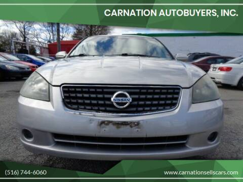 2005 Nissan Altima for sale at CarNation AUTOBUYERS, Inc. in Rockville Centre NY