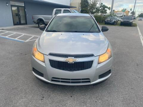 2011 Chevrolet Cruze for sale at UNITED AUTO BROKERS in Hollywood FL