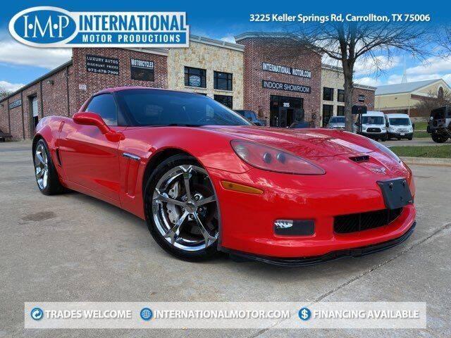 2010 Chevrolet Corvette for sale at International Motor Productions in Carrollton TX