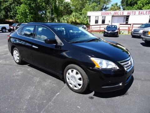 2014 Nissan Sentra for sale at DONNY MILLS AUTO SALES in Largo FL