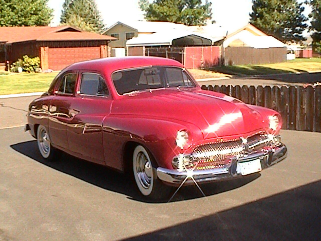 1950 Mercury 4 Dr. Sedan