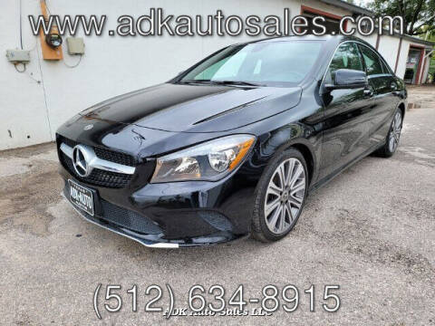 2018 Mercedes-Benz CLA for sale at ADK AUTO SALES LLC in Austin TX